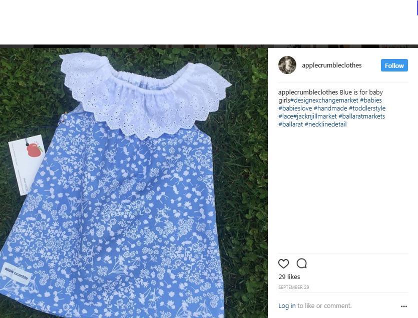 Jika Anda memiliki pakaian yang tidak sesuai dengan bentuk tubuh Anda, bawalah ke penjahit dan mereka akan menyulap pakaian Anda (Instagram/@applecrumbleclothes)