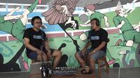 Mantan pemain PSS Sleman, M. Anshori atau Bagong dalam podcast PSS TV. (Tangkapan layar kanal YouTube PSS TV)