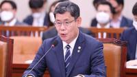 Menteri Unifikasi Korea Selatan, Kim Yeon-chul. (EPA/ Yonhap News Agency)