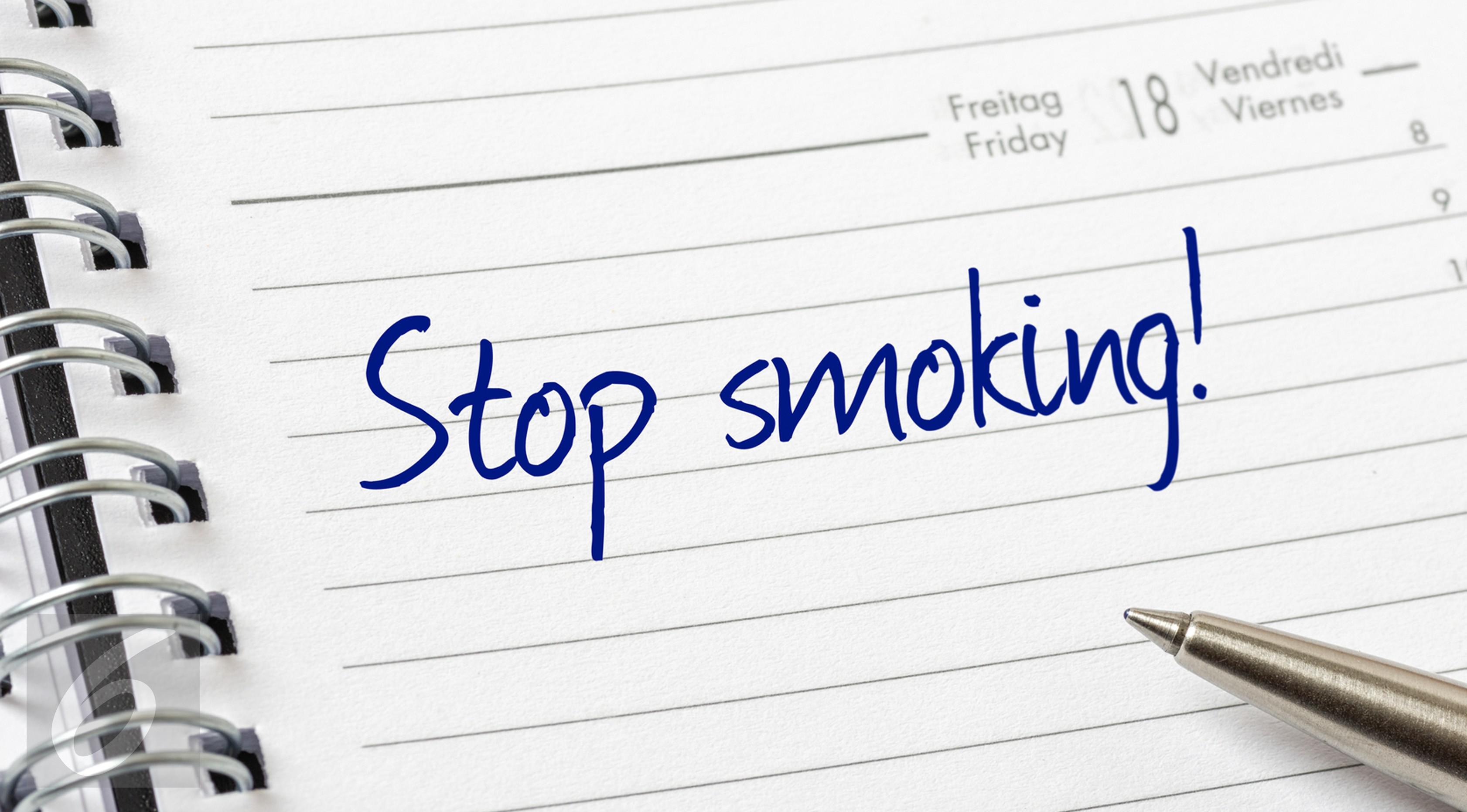 Ilustrasi Foto Stop atau Berhenti Merokok (iStockphoto)