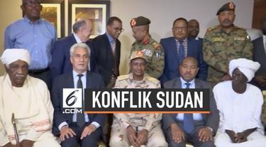 Pihak militer dan demonstra pro demokrasi Sudan sepakat mengakhir konflik untuk membuat sebuah pemerintahan yang berdaulat. Hal ini dilakukan atas mediasi Uni Afrika dan Ethiopia.