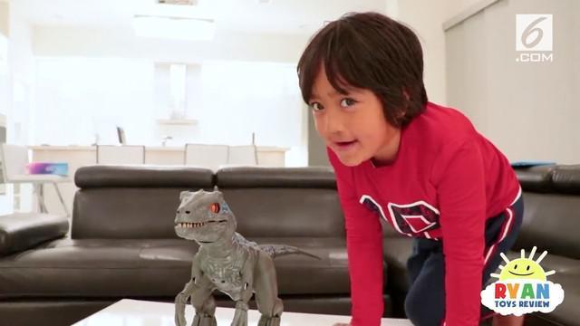 Ryan ToysReview jadi youtuber berpenghasilan paling tinggi sebanyak 314 miliar setahun di usia 7 tahun.
