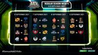 Jadwal dan Live Streaming MDL Indonesia Season 4 di Vidio Pekan Keempat, 6-9 September 2021. (Sumber : dok. vidio.com)