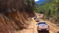 Jalan Trans Wamena-jayapura menghubungkan 8 kabupaten di Pegunungan Tengah Papua. (Liputan6.com/Katharina Janur)