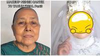 Viral Nenek 70 Tahun Terlihat Cantik dan Awet Muda Setelah Didandani. (Sumber: TikTok/ @ariizam)