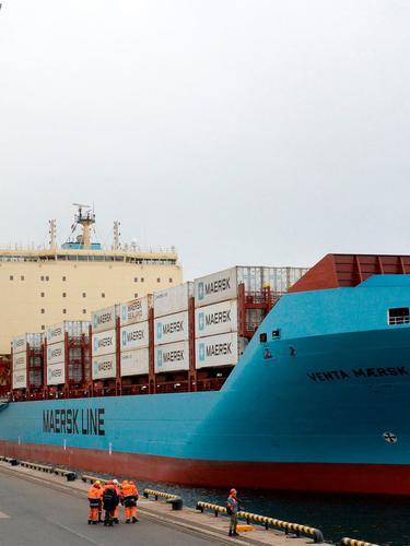 Ilustrasi kapal kargo (AFP/Olga Maltseva)