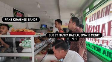 Bikin Ngakak, 8 Meme Kocak Dine In 20 Menit