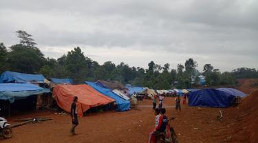 Pengungsi Banjir Lebak