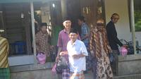 Anak putu kalikudi menggelar ritual Sadran, saling berkunjung untuk mendoakan menjelang Ramadan. (Foto: Liputan6.com/Muhamad Ridlo)