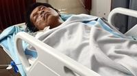 Kondisi Adian Napitupulu dikabarkan membaik usai kolaps saat penerbangan ke Palangka Raya. (Istimewa)