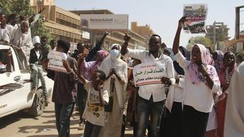 2 Tahun Pasca-kudeta, Warga Sudan Desak Pembubaran Pemerintah Transisi