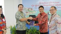 Kementerian Kelautan dan Perikanan (KKP) gelar sosialisasi perizinan bertema Peluang Investasi Kelautan di Provinsi Sulawesi Utara. (Dok. KKP)