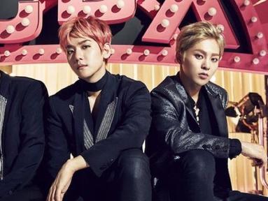 Sudah 2 tahun EXO-CBX debut di industri musik K-Pop. Seperti diketahui, grup ini merupakan subunit EXO yang terdiri dari 3 personel yaitu Chen, Xiumin, dan Baekhyun. (Foto: soompi.com)