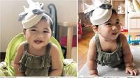 Cucu perempuan kedua SBY, Gayatri Idalia Yudhoyono, anak Edhi Baskoro Yudhoyono dan Aliya Rajasa. (dok. Instagram @ruby_26/Dinny Mutiah)
