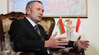 Dubes Belarusia,Vladimir Lopato Zagorsky. (Liputan6.com/Helmi Afandi)