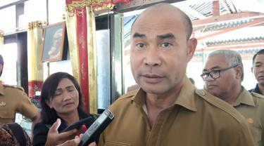 Gubenur Nusa Tenggara Timur (NTT), Viktor Bungtilu Laiskodat (Ola Keda/Liputan6.com)