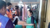 Pendataan warga terdampak reaktivasi rel Cibatu-Garut Kota (Liputan6.com/Jayadi Supriadin)