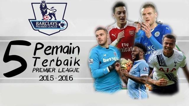 Video 5 pemain sepak bola terbaik Premier League pada paruh musim 2015-2016 versi Talksport yaitu Mesut Ozil, Jamie Vardy, Dele Alli, Jack Butland dan Raheem Sterling.