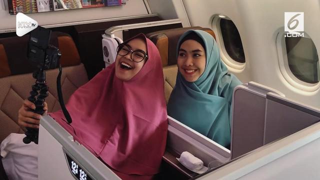 Rayakan 6 juta subscriber, Ria Ricis terbang ke Palestina bersama kakaknya.