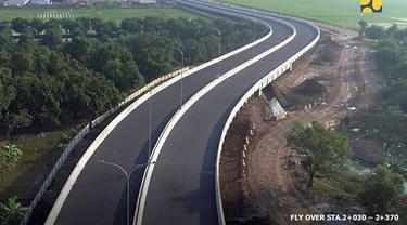 Kementerian PUPR melaksanakan pembangunan jalan akses ke Pelabuhan Patimban sepanjang 8,2 km. (Dok Kementerian PUPR)