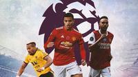 Premier League - Adama Traore, Mason Greenwood, Pierre-Emerick Aubameyang (Bola.com/Adreanus Titus)