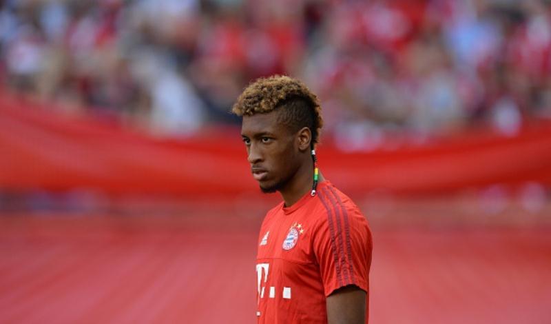 Pemain Bayern Munchen, Kingsley Coman (AFP PHOTO / CHRISTOF STACHE)
