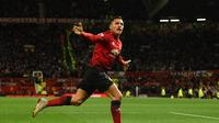 5. Alexis Sanzhez - Kesulitan bermain di United membuat Sanchez frustasi. Terlebih lagi dengan cedera yang menimpa pemain mungil tersebut. Namun banyak klub top eropa yang bersedia menampung pamain 29 tahun tersebut. (AFP/Oli Scarff)