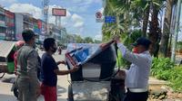 Penertiban Alat Peraga Kampanye (APK) Pilkada Medan
