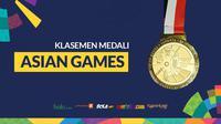 Klasemen Medali Asian Games 2018. (Bola.com/Dody Iryawan)