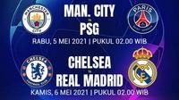 Liga Champions - Jadwal Semifinal Leg 2 (Bola.com/Adreanus Titus)