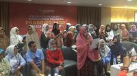 Konsolidasi Relawan Prabowo-Sandi Ricuh Gara-Gara Ucapan Selamat untuk Jokowi-Ma'ruf (Merdeka/Muhammad Genantan Saputra)