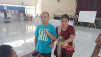 Penyandang Disabilitas ikut mencoblos di Kota Bandung (Liputan6.com/Huyogo Simbolon)
