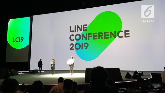 Line Conference 2019. (Liputan6.com/