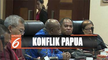 Pimpinan DPRD Papua temui Moeldoko dan Tjahjo Kumolo untuk menyampaikan aspirasi terkait kondisi Bumi Cendrawasih.