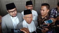 KH Ma'ruf Amin menggelar silaturahim dengan para kyai muda di Malang, Jawa Timur (Liputan6.com/Zainul Arifin)