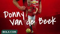 Manchester United - Donny van de Beek (Bola.com/Adreanus Titus)