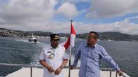 Menteri Kelautan dan Perikanan Edhy Prabowo melakukan kunjungan kerja ke Ambon pada 31 Agustus 2020. (Dok KKP)