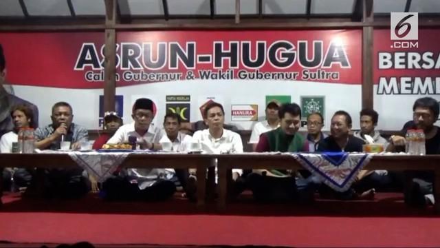 Pasangan Asrun-Hugua klaim memenangi pilkada Sulawesi Tenggara, meski sejumlah lembaga survei merilis kemenangan rivalnya.