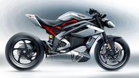 Triumph Motorcycles membuat prototipe motor listrik yang dinamakan Project TE-1. (Electrek)