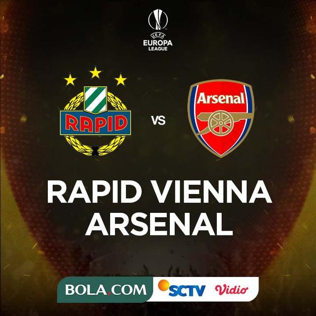 Prediksi Rapid Vienna Vs Arsenal Di Liga Europa Tim Meriam London Incar 3 Poin Dunia Bola Com