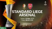 Liga Europa - Standard Liege Vs Arsenal (Bola.com/Adreanus Titus)
