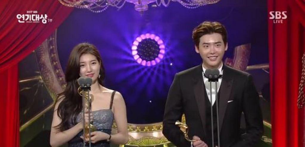Lee Jong Suk dan Suzy