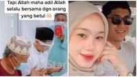 Pasangan ini menikah usai sempat putus dan si wanita memblokir akun Instagram suaminya. (Sumber: Fimela)