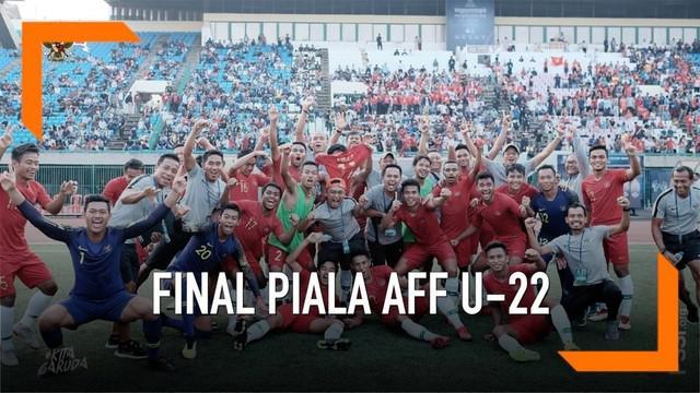 Timnas U-22 melaju ke Final Piala AFF U-22 2019 setelah mengalahkan Vietnam 1-0.