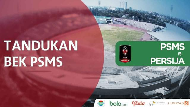 Insiden bek PSMS Medan, Reinaldo Lobo menanduk Rudi Widodo, pemain Persija Jakarta