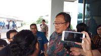 Menristek Bambang mengunjungi Dexa Laboratories of Biomolecular Sciences (DLBS) Dexa Group, Cikarang Selatan membahas mengenai obat fitofarmaka. (Foto: Fitri Haryanti)