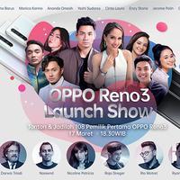 Yuk saksikan Live Streaming OPPO Reno3 Launch Show!
