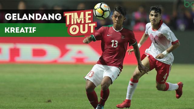 Berita video Time Out kali ini tentang para gelandang kreatif di Timnas Indonesia U-23 yang bisa untuk Asian Games 2018.
