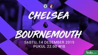 Premier League - Chelsea Vs Bournemouth (Bola.com/Adreanus Titus)