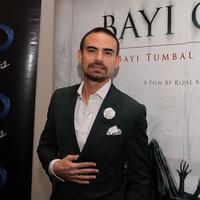 Ashraf Sinclair aktor asal Malaysia membintangi film yang digarap sutradara Rizal Mantovani. Bersama Rianti Cartwright membintangi film berjudul Bayi Gaib. (Adrian Putra/Bintang.com)